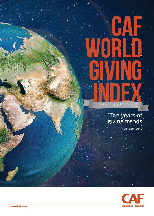World Giving Index: ten years of giving trends (2019)